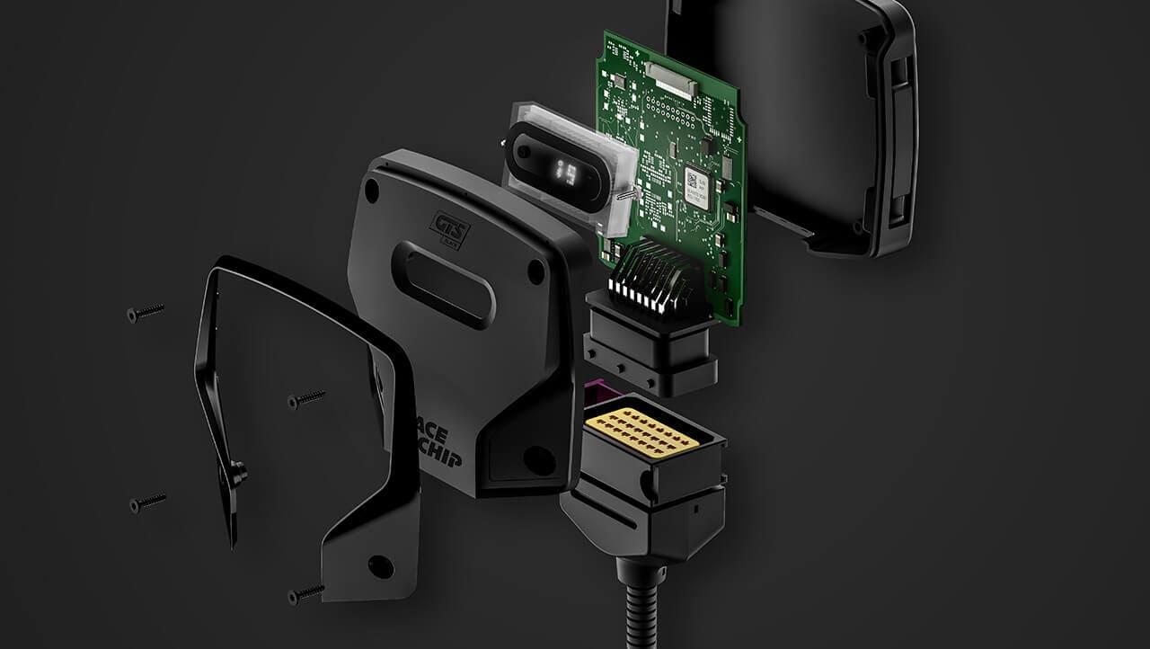 Caja de chip de rendimiento OBD negro ST para 3er 320d 163HP E90 Diesel Pro Racing tuningbox m/ás potencia con garant/ía